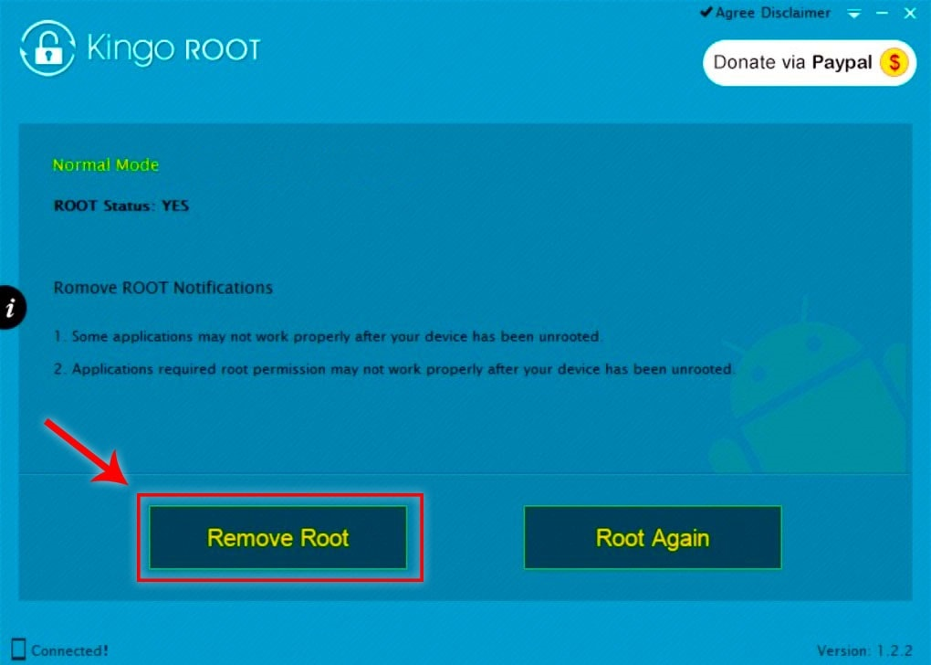Unroot With Kingoroot PC