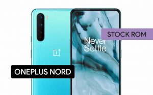 Install Stock ROM on OnePlus Nord