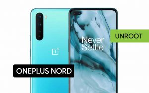 Unroot the OnePlus Nord