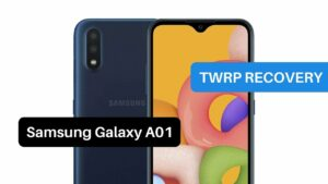 TWRP Recovery Samsung Galaxy A01