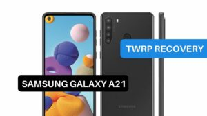 TWRP Recovery Samsung Galaxy A21