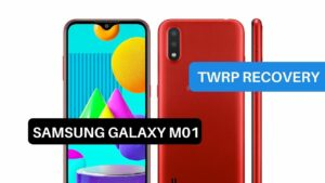TWRP Recovery Samsung Galaxy M01