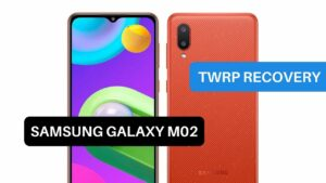 TWRP Recovery Samsung Galaxy M02