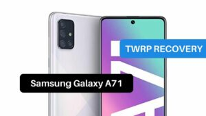TWRP Recovery Samsung Galaxy A71